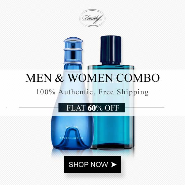 Davidoff Cool Water Men And Women Deodorant Combo For Unisex