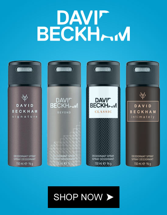 David Beckham Perfumes And Deodorants Online in INdia