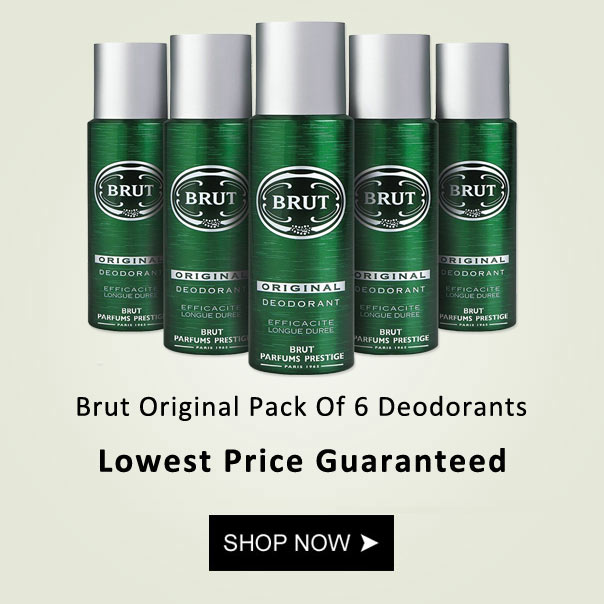 Brut Original Pack Of 6 Deodorants
