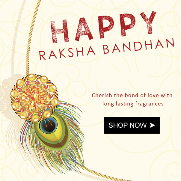 Rakshabandhan gifts for brothers and sisters, unique rakhi gifts, perfumes rakshabandhan, buy deo and perfumes rakhi gifts online in India
