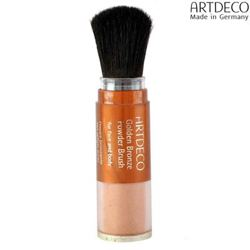 Artdeco Face Et Body Bronze Finish Powder Brush Camy Bronzonge -GPB5