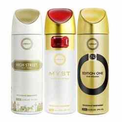 Armaf High Street, Myst, Edition One Pack of 3 Deodorants