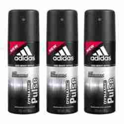 Adidas Dynamic Pulse Value Pack Of 3 Deodorants