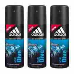 Adidas Ice Dive Value Pack Of 3 Deodorants