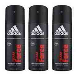 Adidas Team Force Value Pack Of 3 Deodorants