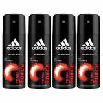 Adidas Value Pack Of 4 Team Force Deodorants