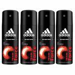Adidas Value Pack Of 4 Team Force Deodorants