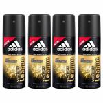 Adidas Value Pack Of 4 Victory League Deodorants