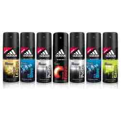 Adidas Value Pack Of 7 Deodorants - 2 Dynamic Pulse, 2 Ice Dive, Pure Game, Team Force And Victory League