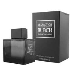 Antonio Banderas Seduction In Black EDT Perfume Spray