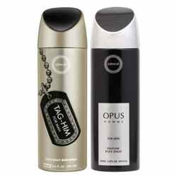 Armaf Opus And Tag Him Pack Of 2 Deodorants