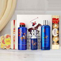 Beverly Hills Polo Club No 8 Rakhi Gift Pack