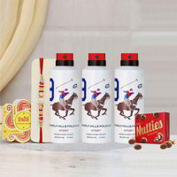Beverly Hills Polo Club Pack of 3 Deos Rakhi Gift Pack