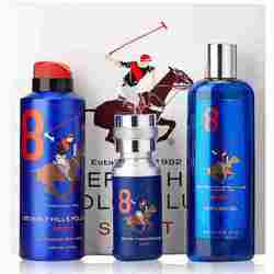 BHPC Sports No 8 - 3 Piece Giftset For Men