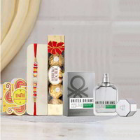 Benetton Aim High Perfume Rakhi Gift Pack