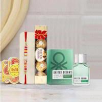 Benetton Be Strong Perfume Rakhi Gift Pack