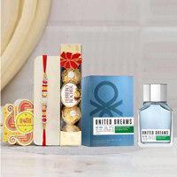 Benetton Go Far Perfume Rakhi Gift Pack