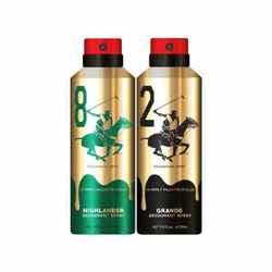 Beverly Hills Polo Club Gold Edition Highlander And Grande Pack of 2 Deodorants