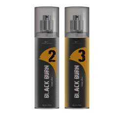 Black Burn 2 And 3 Set of 2 Alcohol Free Deodorants For Men