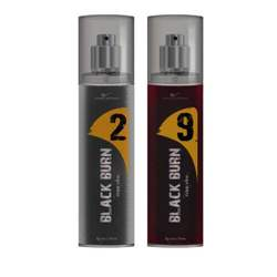 Black Burn 2 And 9 Set of 2 Alcohol Free Deodorants For Men