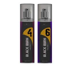 Black Burn 4 And 6 Set of 2 Alcohol Free Deodorants For Women