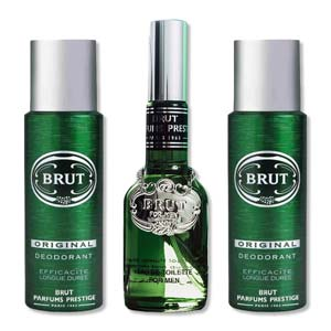 Brut Original Classic Perfume And 2 Deodorants 3 Piece Combo Gift Set