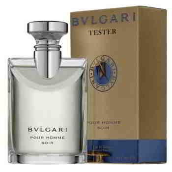 Bvlgari Pour Homme Soir EDT Perfume Spray Tester Pack