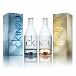 Calvin Klein IN2U Men And Women Pack Of 2 Perfumes