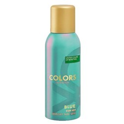 United Colors Of Benetton Colors De Benetton Blue Deodorant Spray For Women