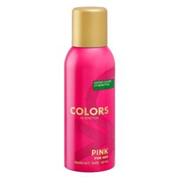 United Colors Of Benetton Colors De Benetton Pink Deodorant Spray For Women