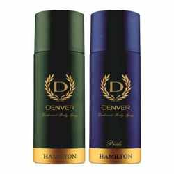 Denver Hamilton And Pride Pack of 2 Deodorants For Men