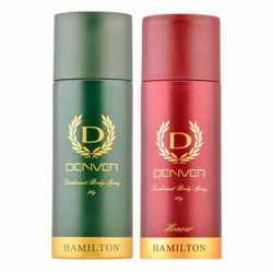 Denver Hamilton And Honour Pack of 2 Deodorants For Men