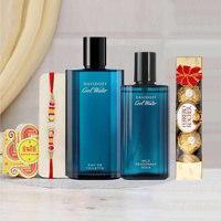 Davidoff Cool Water Perfume And Deodorant Rakhi Gift Pack