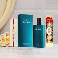 Davidoff Cool Water Perfume Rakhi Gift Pack
