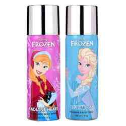 Disney Frozen Radiant Heart And Blue Frost Pack of 2 Deodorants