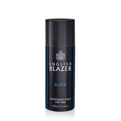 English Blazer Black Deodorant Spray