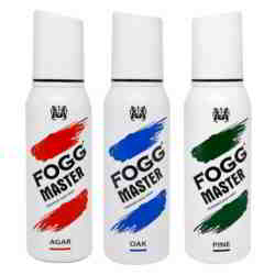 Fogg Master Agar Oak Pine Pack of 3 Deodorant Sprays