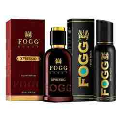 Fogg Xpressio Eau De Parfum And Aqua Deodorant Combo