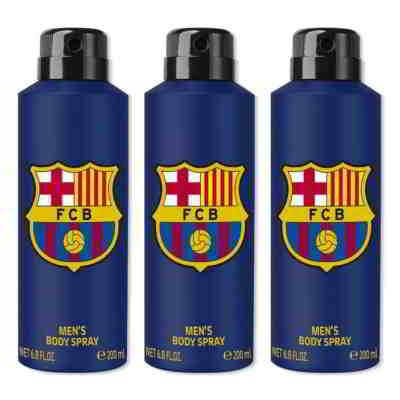 Football Club Barcelona Original Pack Of 3 Deodorants