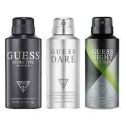 Guess Night Access, Dare, Seductive Homme Pack of 3 Deodorants