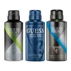 Guess Night Access, Seductive Homme Blue, Night Pack of 3 Deodorants