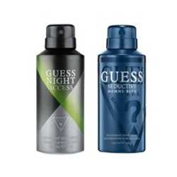 Guess Night Access, Seductive Homme Blue Pack of 2 Deodorants For Men