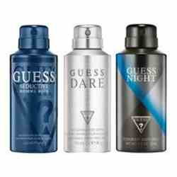 Guess Seductive Homme Blue, Dare, Night Pack of 3 Deodorants