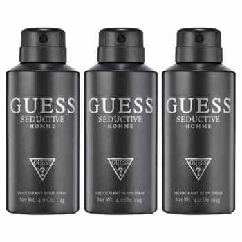 Guess Seductive Pack Of 3 Deodorants