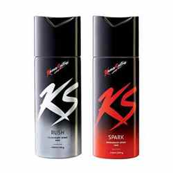 Kamasutra Spark, Rush Pack of 2 Deodorants