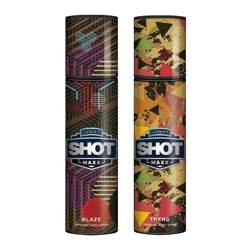 Layerr Shot Maxx Blaze, Trend Pack of 2 Perfume Body Sprays