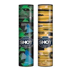 Layerr Shot Maxx Flair, Flick Pack of 2 Perfume Body Sprays