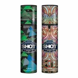 Layerr Shot Maxx Flair, Rage Pack of 2 Perfume Body Sprays