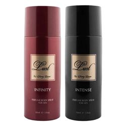 Lust by Sunny Leone Infinity, Intense Pack of 2 Deodorant Sprays