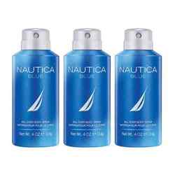 Nautica Blue Pack Of 3 Deodorants